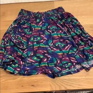 XS colorful skirt